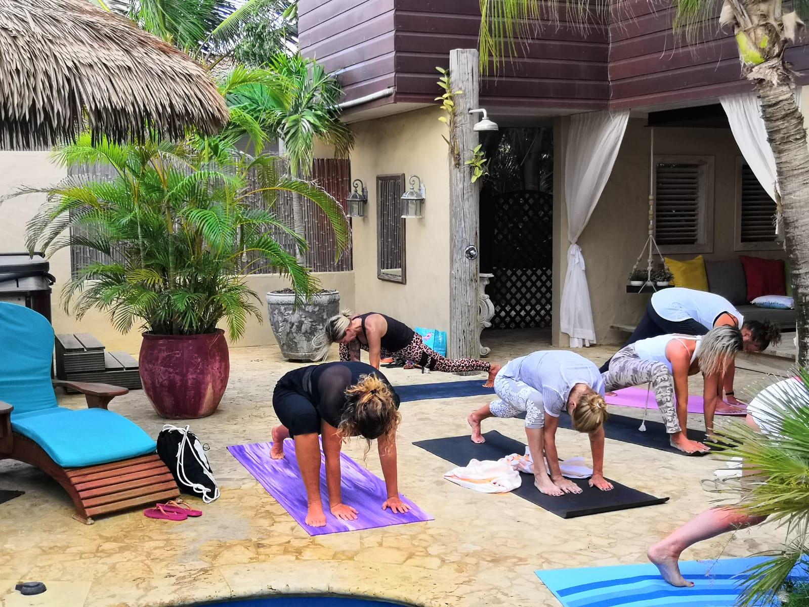 Yoga at Bamboo Bali