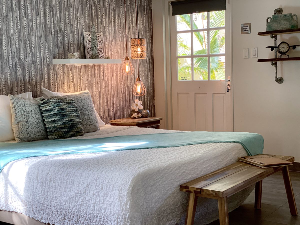 Romantic king size bed